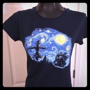 Van Gogh style shirt